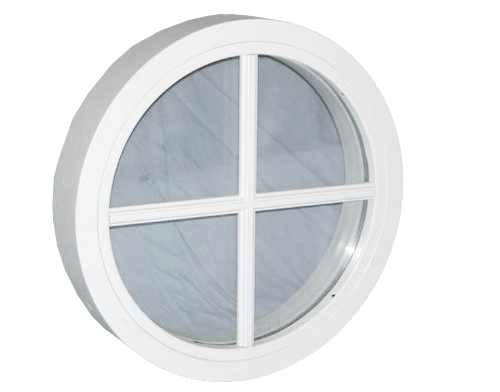 Fönster runda fönster : Rundfönster & Stjärntrappor - runda och halvrunda fönster ...